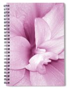 Petals In Pink Spiral Notebook