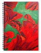 Petals Of Fire Spiral Notebook