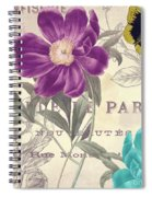 Petals Of Paris II Spiral Notebook