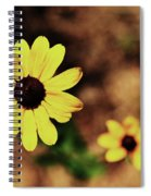 Petals Stretched Spiral Notebook