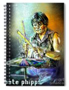 Pete Phipps Spiral Notebook