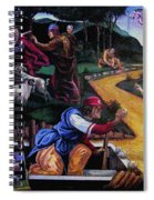 Pete Rose In The Renaissance Spiral Notebook