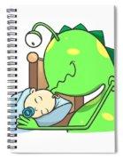 Peter And The Closet Monster, Kiss Spiral Notebook