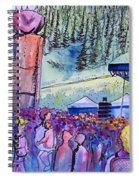 Peter Rowen At Copper Mountain Spiral Notebook