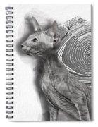 Peterbald Kitten 01 Spiral Notebook