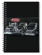 Peterbilt Trucks Spiral Notebook
