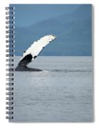 Petersburg Ak Whale Fin Spiral Notebook