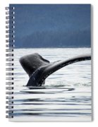 Petersburg Ak Whale Tale 5 Spiral Notebook
