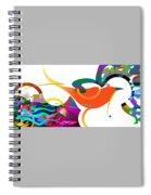 Petit Oiseau De Paradis Spiral Notebook