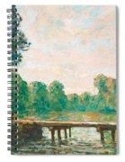 Petit Pont Sur L'orvanne Spiral Notebook