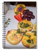 Petite Quiche Spiral Notebook
