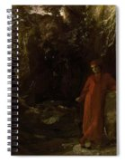 Petrarch By The Fountain Of Vaucluse Spiral Notebook