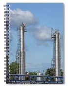Petrochemical Plant Refinery Industry Zone Spiral Notebook