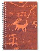 Petroglyphs Spiral Notebook