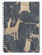 Petroglyphs, Utah Spiral Notebook