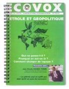 Petrole Et Geopolitique Spiral Notebook