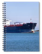 Petroleum Tanker En Route Spiral Notebook