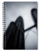 Petronas Towers Spiral Notebook