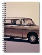 Peugeot 404 1960 Painting Spiral Notebook