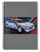 Peugeot 405 T16 Gr Pikes Peak Spiral Notebook