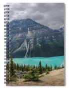 Peyto Lake Banff Spiral Notebook