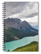 Peyto Lake - Banff National Park, Canada Spiral Notebook