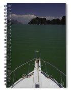 Phang Nga Province Of Phuket Thailand Spiral Notebook