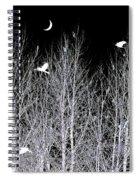 Phantom Birds Spiral Notebook