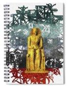 Pharaoh Of Egypt Spiral Notebook