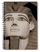 Pharaohs And Pyramids Spiral Notebook