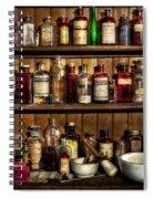 Pharmaceuticals Spiral Notebook
