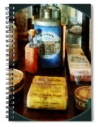 Pharmacy - Cough Remedies And Tooth Powder Spiral Notebook