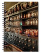 Pharmacy - So Many Drawers And Bottles Spiral Notebook