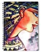 Pharoah Of Egypt Spiral Notebook