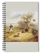 Pheasant Shooting Henry Thomas Alken Spiral Notebook