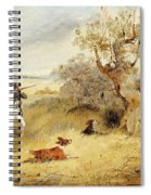 Pheasant Shooting Spiral Notebook