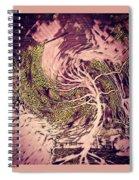 Phenom Of Force Spiral Notebook