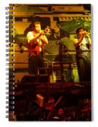 Phil Collins-horns-0906 Spiral Notebook