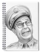 Phil Silvers Spiral Notebook