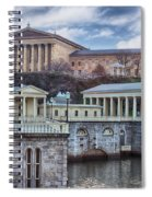 Philadelphia Art Museum At The Water Works  Spiral Notebook