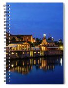 Philadelphia Art Museum - City Lights Spiral Notebook