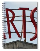 Philadelphia Arts Bank Spiral Notebook