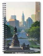 Philadelphia Benjamin Franklin Parkway Spiral Notebook