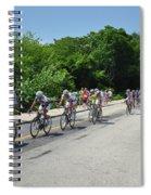 Philadelphia Bike Race - Manayunk Avenue Spiral Notebook