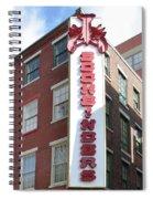 Philadelphia - Bookbinders Spiral Notebook