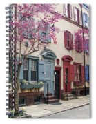 Philadelphia Blossoming In The Spring Spiral Notebook