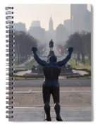 Philadelphia Champion - Rocky Spiral Notebook