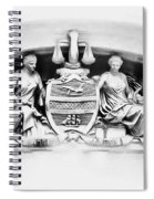 Philadelphia City Hall Fresco Spiral Notebook