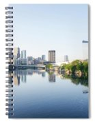 Philadelphia Cityscape Along The Schuylkill River Spiral Notebook