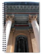 Philadelphia Classical Pillars - Looking Up Spiral Notebook